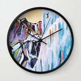 Ice Dance Wall Clock