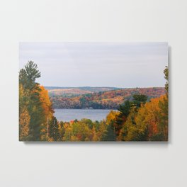 Fall at Bon Echo Metal Print