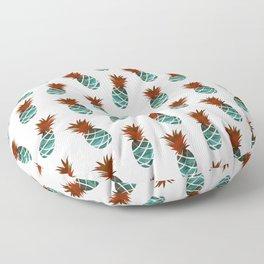 Vintage Pineapple Print Floor Pillow