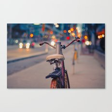 Rusty bike Canvas Print