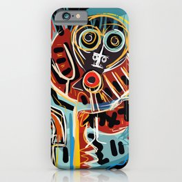 You are here with me street art graffiti iPhone Case