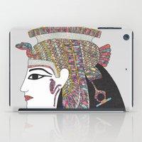 anaconda iPad Cases featuring EGYPTIAN GODDESS by Bianca Green