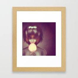 CandyGirl Framed Art Print