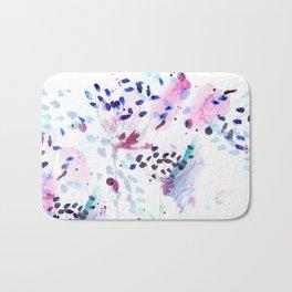 flowery Bath Mat