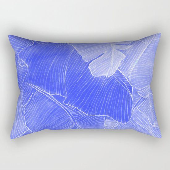 Jungle in the night  Rectangular Pillow