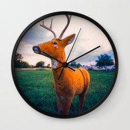 Dummy Deer Wall Clock