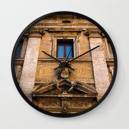 Roman Facade of Italy Wall Clock