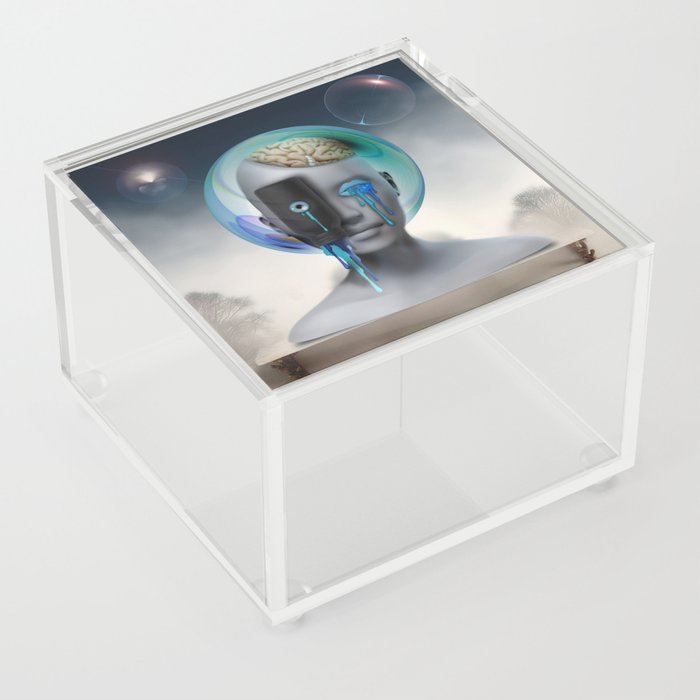 Not Your Ancient Egyptian Grandmother's Apothecary Acrylic Box
