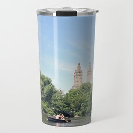 Central Park Lake Travel Mug