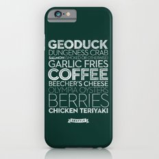 Seattle — Delicious City Prints Slim Case iPhone 6s