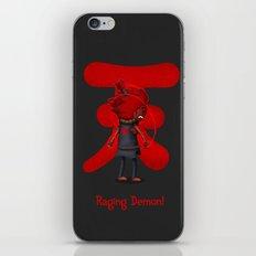 Raging Demon iPhone & iPod Skin