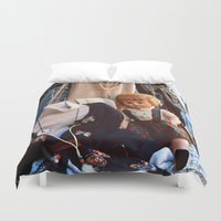 doll Duvet Covers featuring Doll by Jimmy Duarte