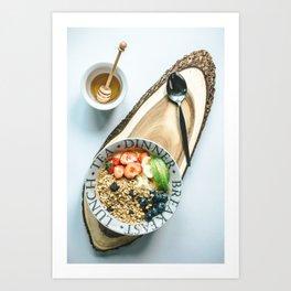 Beautiful Food by Calum Lewis Art Print