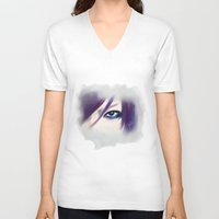 soul V-neck T-shirts featuring Soul by maya kohl