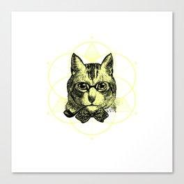 gentle cat furniture Design by diegoramonart Canvas Print