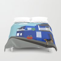 colombia Duvet Covers featuring Colombia  by Design4u Studio