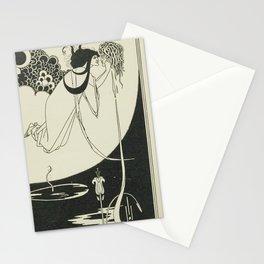 AUBREY BEARDSLEY Salome Oscar Wilde The Climax - Woman with Head Stationery Cards
