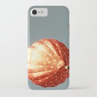 baloon iPhone & iPod Cases featuring Strawberry hot air baloon by Wood-n-Images