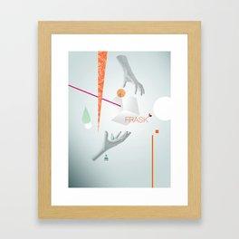 Frask - Hands Framed Art Print