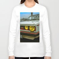 volkswagen Long Sleeve T-shirts featuring Volkswagen Golf Vintage by Eduard Leasa Photography