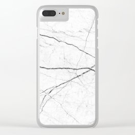 Mable Texture Clear iPhone Case