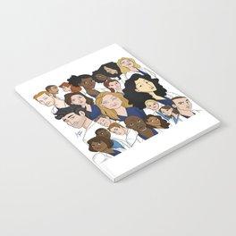 Grey's Anatomy Notebook