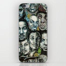 History of Rap 90s iPhone Skin