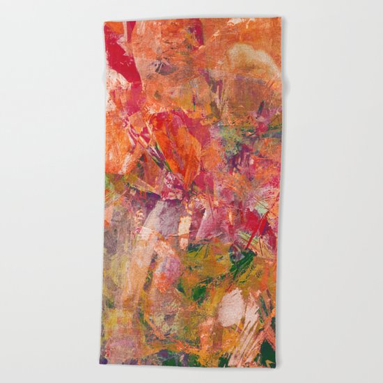 Enjoy Spring Beach Towel