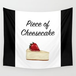 Piece of Cheesecake Wall Tapestry