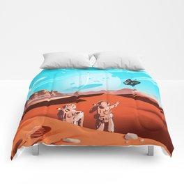 tardis space Comforters