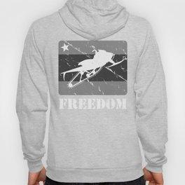 FREEDOM! Snowmobile Hoody