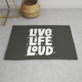 Live live loud! Rug