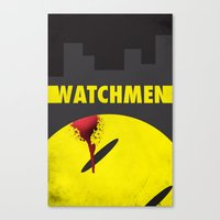 watchmen Canvas Prints featuring Watchmen by Thcenk