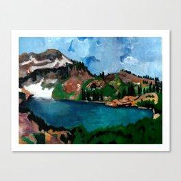 Cecret Lake. Utah. Canvas Print