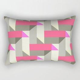 Herringbone geometric Rectangular Pillow