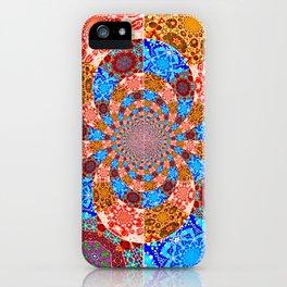 Mandala Mashup iPhone Case