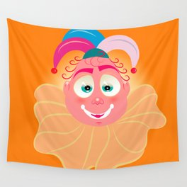 Lolo AlfsToys head Wall Tapestry