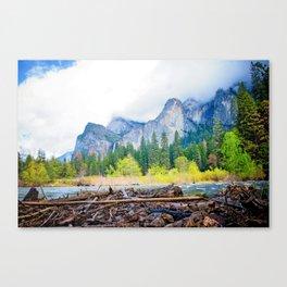 Yosemite Mood Canvas Print