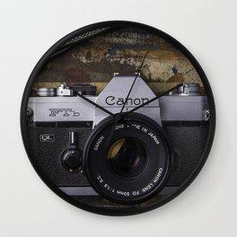 Canon Film Wall Clock
