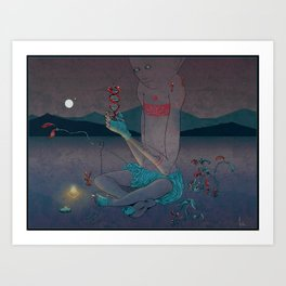 Mushkid Art Print