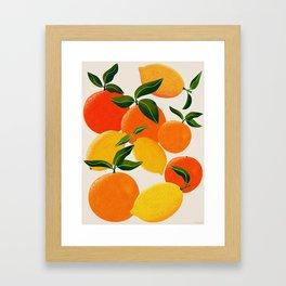 Oranges and Lemons Gerahmter Kunstdruck