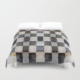 Checkers Duvet Cover