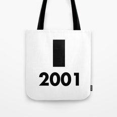 2001: A Minimalist Space Odyssey Tote Bag