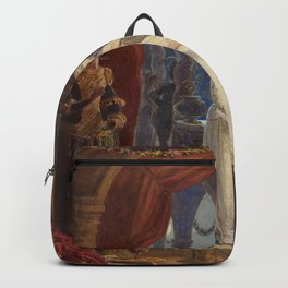 Vintage Romeo and Juliet Painting (1861) Backpack