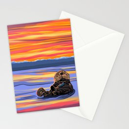 Sea Monkey Stationery Cards