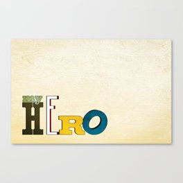 myHERO Canvas Print
