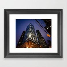 New York Future Framed Art Print