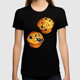 Blueberry Muffin Pattern T-shirt