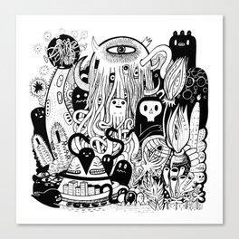 Big Garden  Canvas Print