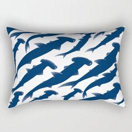 Hammerhead Shark Exodus Rectangular Pillow
